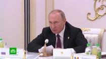 Путин предупредил ориске массового бегства боевиков ИГИЛ <nobr>из-за</nobr> операции Турции