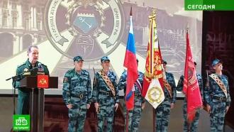 Виктор Золотов вручил орден Жукова петербургскому институту Росгвардии