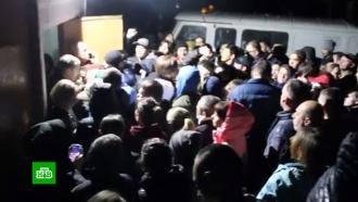 Подозреваемого вубийстве <nobr>9-летней</nobr> девочки вСаратове еле спасли от разъяренной толпы