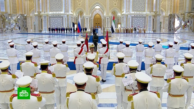 Истребители, всадники иДПС: как встретили Путина вАрабских Эмиратах.ОАЭ, Путин, визиты, переговоры.НТВ.Ru: новости, видео, программы телеканала НТВ