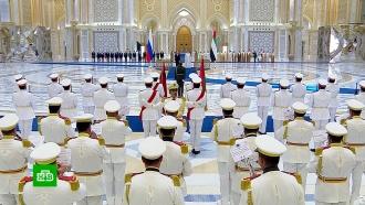 Истребители, всадники и ДПС: как встретили Путина в Арабских Эмиратах