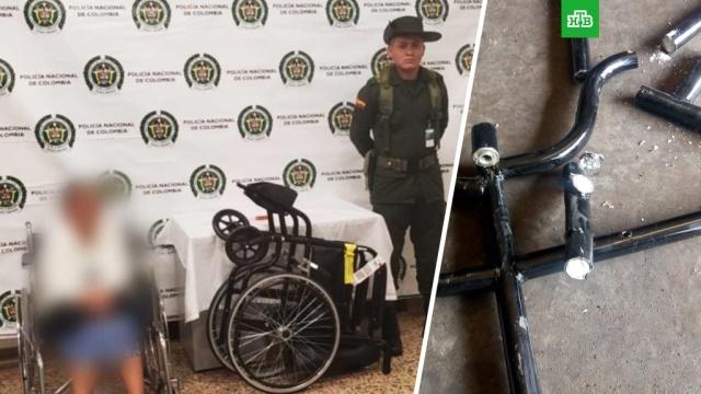 81-летняя старушка пыталась попасть в самолет с 17 кг кокаина в инвалидной коляске.В аэропорту колумбийского города Рионегро задержали 81-летнюю женщину, которая пыталась попасть на рейс в Испанию с 17 кг кокаина, спрятанными в ее инвалидной коляске.Колумбия, авиационные катастрофы и происшествия, наркотики и наркомания, пенсионеры.НТВ.Ru: новости, видео, программы телеканала НТВ