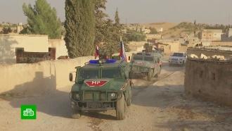 Российские военные взяли под защиту мирных жителей всирийском Манбидже