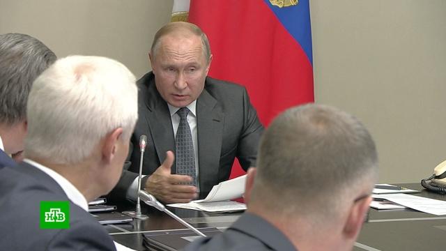 Путин призвал чиновников работать «с душой исердцем».наводнения, Путин.НТВ.Ru: новости, видео, программы телеканала НТВ
