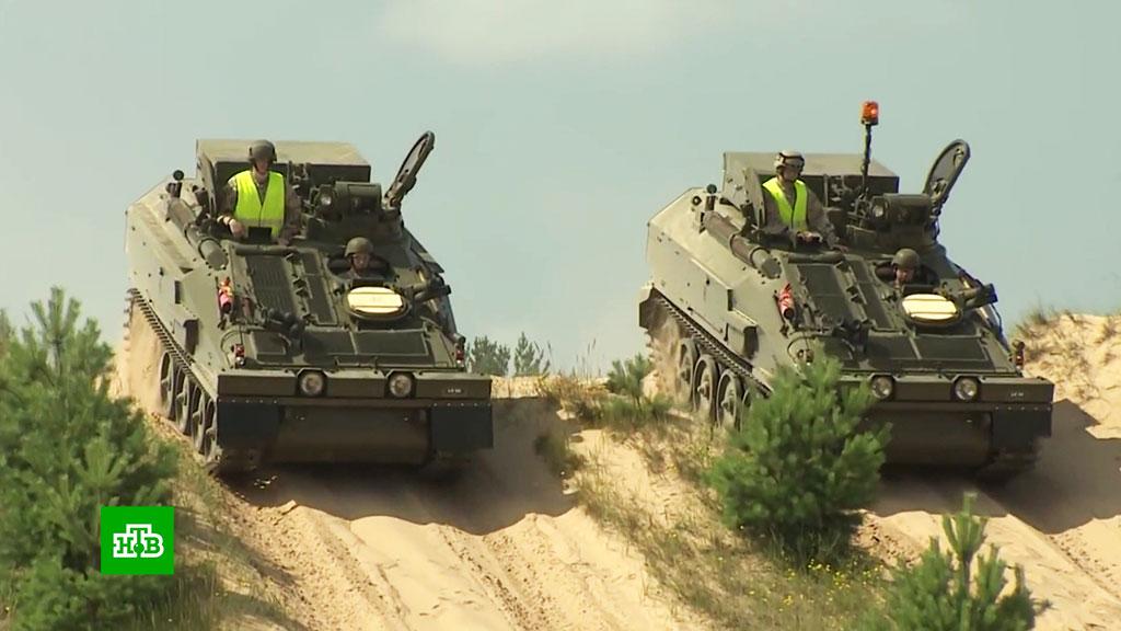 Латвия накупила военной техники у стран НАТО, не понимая, чем ей это грозит