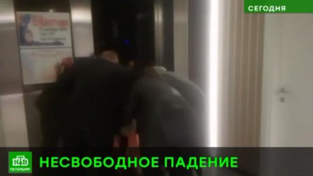 В питерском бизнес-центре лифт сорвался с 9-го этажа.Санкт-Петербург, лифты.НТВ.Ru: новости, видео, программы телеканала НТВ
