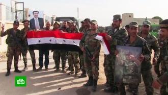 Сирийские военные вошли вРакку иКобани