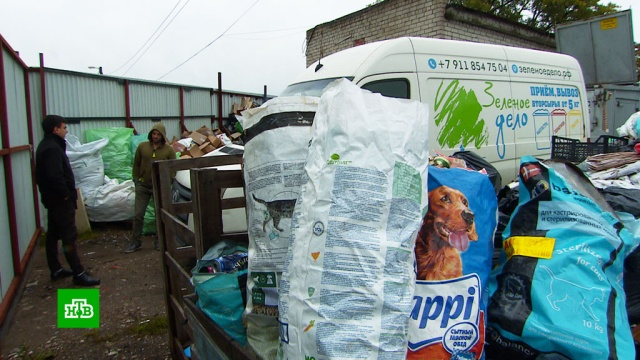 Счистого листа: житель Калининграда зарабатывает, покупая мусор угорожан.Калининград, мусор, экология.НТВ.Ru: новости, видео, программы телеканала НТВ