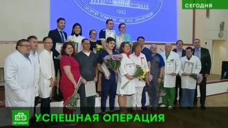 Петербургских трансплантологов наградили за редкую операцию
