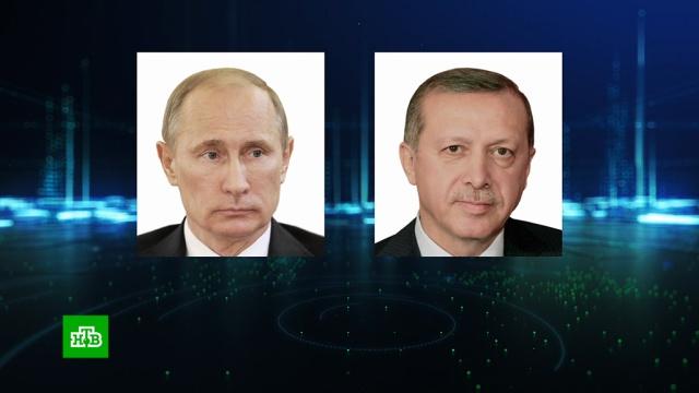 Путин и Эрдоган в Сочи обсудят турецкую операцию в Сирии.Путин, Сирия, Турция, Эрдоган, войны и вооруженные конфликты, переговоры.НТВ.Ru: новости, видео, программы телеканала НТВ
