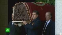 Перезахоронение Франко снова раскололо Испанию на два лагеря