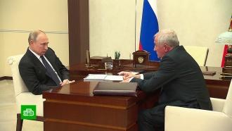 Глава ФТС доложил Путину об ускорении процедуры контроля на таможне