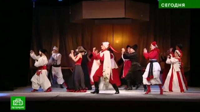 Краски праздника: на петербургскую сцену приехала «Сорочинская ярмарка».Гоголь, Санкт-Петербург, литература, театр.НТВ.Ru: новости, видео, программы телеканала НТВ