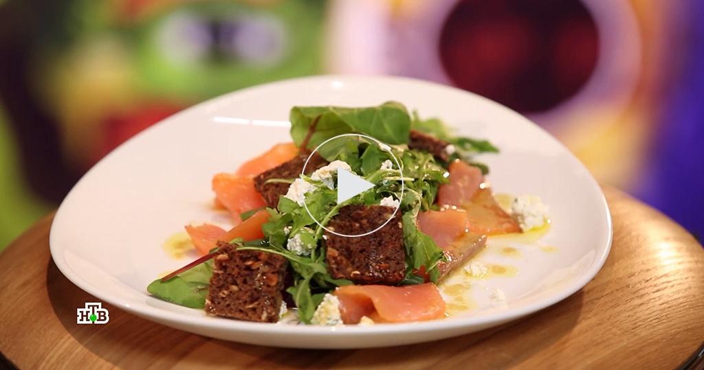 Салат со свеклой итворогом: здоровая альтернатива селедке под шубой