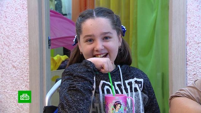 Десятилетней Диане срочно нужны аппарат для вентиляции легких иоткашливатель.благотворительность, болезни, дети и подростки, медицина.НТВ.Ru: новости, видео, программы телеканала НТВ