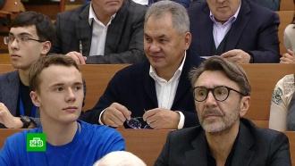 Сергей Шнуров пощекотал мозги диктантом
