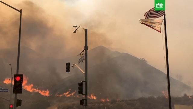 Огненный апокалипсис вКалифорнии.США, лесные пожары, стихийные бедствия.НТВ.Ru: новости, видео, программы телеканала НТВ