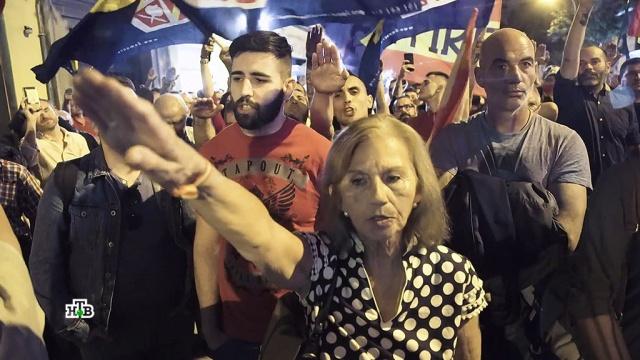Испанцы спорят оКаталонии ивспоминают Франко.Испания, беспорядки, история, митинги и протесты.НТВ.Ru: новости, видео, программы телеканала НТВ