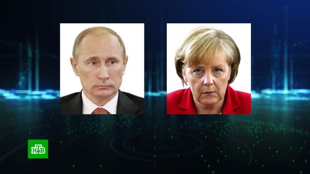 Путин сМеркель сошлись во мнении по соглашению РФ иТурции.Меркель, Путин, Сирия, Сочи, Турция, переговоры.НТВ.Ru: новости, видео, программы телеканала НТВ