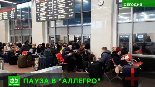 Непогода остановила скоростные поезда между Финляндией и Россией.Санкт-Петербург, Финляндия, железные дороги, поезда.НТВ.Ru: новости, видео, программы телеканала НТВ