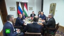 ВБудапеште проходят переговоры Путина иОрбана
