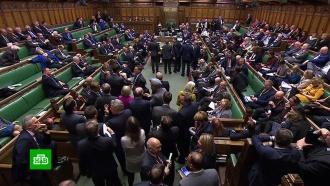 Палата общин приняла во втором чтении законопроект одосрочных выборах