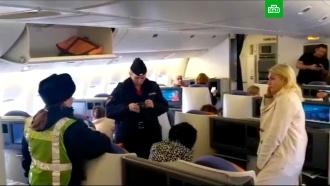 Актриса Лидия Вележева устроила дебош в самолете