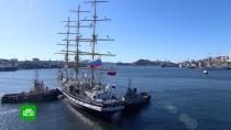 Приморский фрегат «Паллада» отправляется вкругосветное плавание