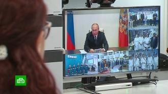 Путин призвал развивать сотрудничество предприятий иобразовательных учреждений