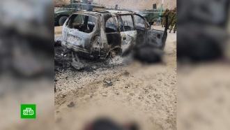 На погранзаставу вТаджикистане напали боевики ИГИЛ