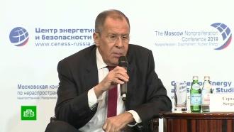 «Это беллетристика»: Лавров отказался избавляться от ядерного оружия