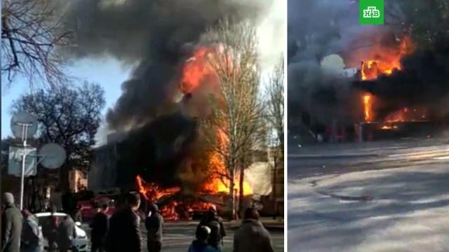 Взрыв в кафе в центре Бишкека попал на видео.взрывы, взрывы газа, Киргизия.НТВ.Ru: новости, видео, программы телеканала НТВ