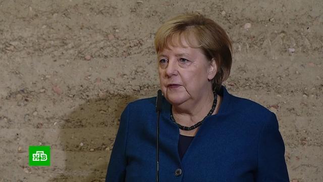 Меркель уфрагмента Берлинской стены призвала защищать свободу идемократию.Берлин, ФРГ, история, памятные даты.НТВ.Ru: новости, видео, программы телеканала НТВ