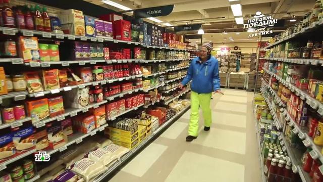 Джона Уоррена шокировали цены на продукты в Арктике.Арктика, еда, традиции и обычаи, туризм и путешествия, эксклюзив.НТВ.Ru: новости, видео, программы телеканала НТВ