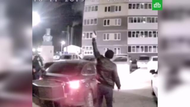 Двое тюменцев устроили стрельбу во дворе из любви к приятелю.Тюмень, стрельба.НТВ.Ru: новости, видео, программы телеканала НТВ