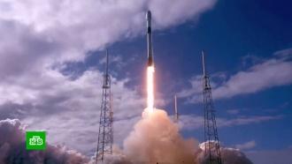 SpaceX успешно вывела на орбиту еще 60 интернет-спутников