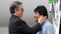 Моралес поблагодарил власти Мексики за спасение его жизни.Бывший президент Боливии обратился к властям Мексики с благодарностью за предоставление ему политического убежища.беспорядки, Боливия, Мексика, митинги и протесты, назначения и отставки, оппозиция.НТВ.Ru: новости, видео, программы телеканала НТВ