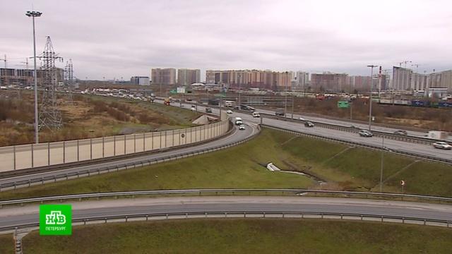Как петербургскую КАД готовят к зиме.ЖКХ, КАД, Санкт-Петербург, гололед, дороги, снег.НТВ.Ru: новости, видео, программы телеканала НТВ