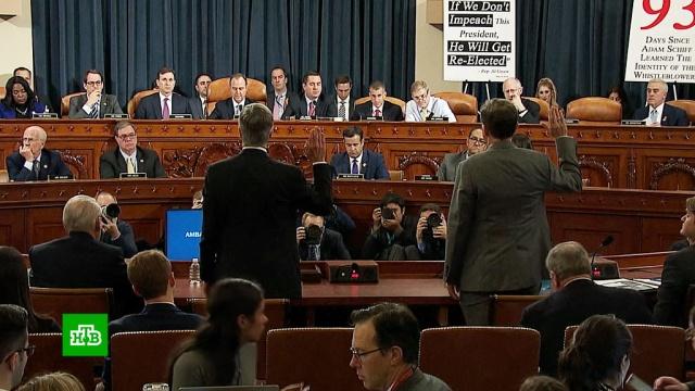 В Конгрессе во время встречи Трампа с Эрдоганом прошли слушания об импичменте.США, Трамп Дональд, Турция, Эрдоган, вооружение, Украина, импичмент, Зеленский.НТВ.Ru: новости, видео, программы телеканала НТВ