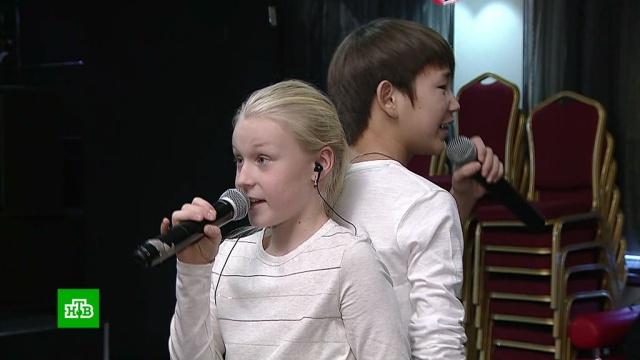 Российские участники «Детского Евровидения» провели генеральную репетицию.Евровидение, дети и подростки, фестивали и конкурсы.НТВ.Ru: новости, видео, программы телеканала НТВ