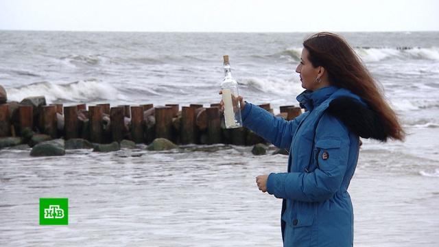 Романтический мусор: экологи против посланий в бутылке.Аляска, Бразилия, история, мусор, НТВ, океан, США, экология.НТВ.Ru: новости, видео, программы телеканала НТВ
