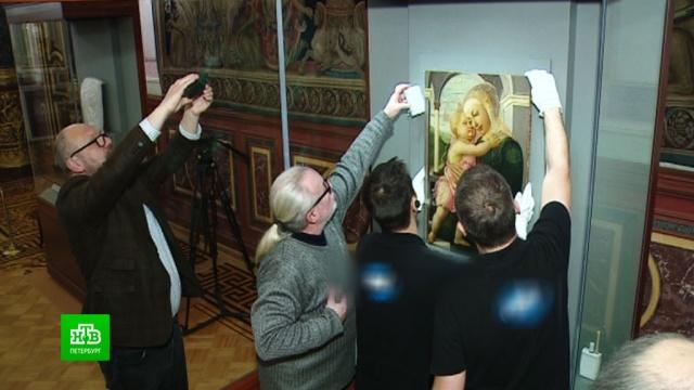 ВЭрмитаж привезли самый трогательный шедевр Боттичелли.Санкт-Петербург, Эрмитаж, выставки и музеи, живопись и художники.НТВ.Ru: новости, видео, программы телеканала НТВ