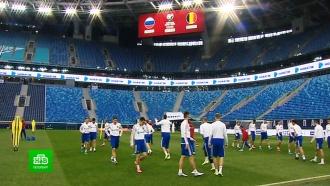Российская сборная готовится к отборочному матчу на Евро-2020 против Бельгии
