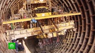 В Петербурге начали строить коричневую ветку метро