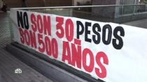 «Хотим как у брата Эво»: протест в Чили перерос в борьбу с «конкистадорами»