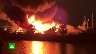 Во флоридском порту сгорели яхты за 20 миллионов долларов