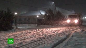 Шквальный ветер и мокрый снег: на Сахалине свирепствуют циклоны