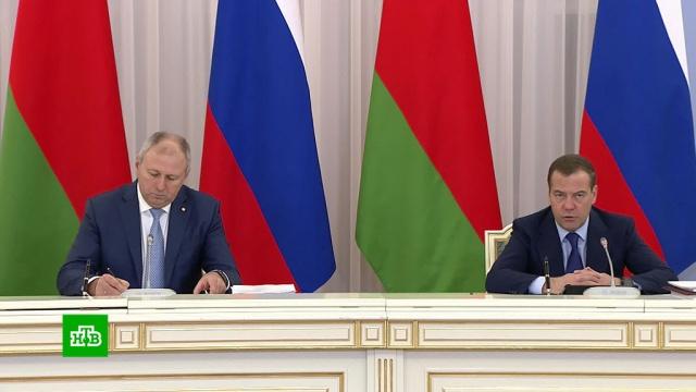 Медведев рассказал о«непростых темах» вотношениях сБелоруссией.Белоруссия, Медведев.НТВ.Ru: новости, видео, программы телеканала НТВ