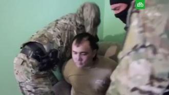 Задержание подозреваемого в шпионаже на Украину