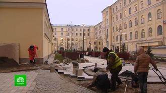 В Петербурге спешно переделывают только что открытый «Сад культуры»